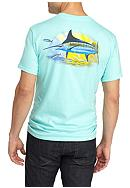 Guy Harvey® Short Sleeve Golden Pocket Tee