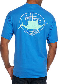 Guy Harvey Short Sleeve Original Fin Graphic Tee