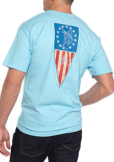 Guy Harvey Allegiance Short Sleeve Graphic Tee