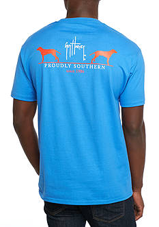 Guy Harvey Fetch Short Sleeve Graphic Shirt