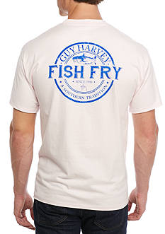 Guy Harvey Fish Fry Short Sleeve Graphic Tee