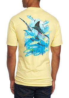 Guy Harvey Short Sleeve Relentless Graphic Tee
