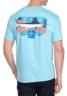 Guy Harvey® Short Sleeve Americana Spangled Graphic Tee