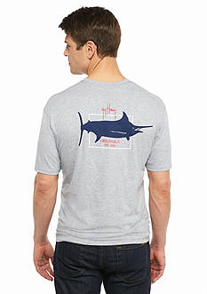 Guy Harvey Short Sleeve Logo Graphic Tee