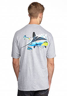 Guy Harvey® Short Sleeve Intrigued Graphic Tee