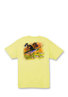 Guy Harvey Short Sleeve Blue Through Graphic Tee