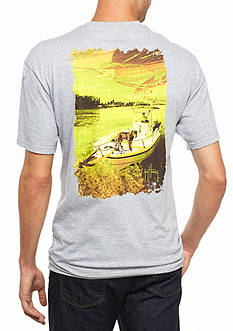 Guy Harvey® Short Sleeve Milo Graphic Tee