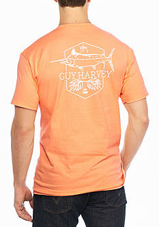 Guy Harvey Short Sleeve Scratchy Graphic Tee