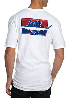 Guy Harvey Half N Half Short Sleeve Graphic Tee