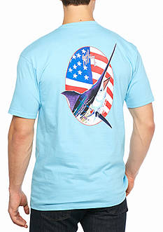Guy Harvey Short Sleeve 'Merican Graphic Tee