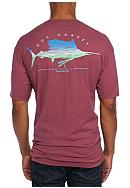Guy Harvey® Short Sleeve Sailfish Scribble