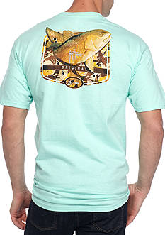 Guy Harvey® Acoustic Short Sleeve Graphic Tee