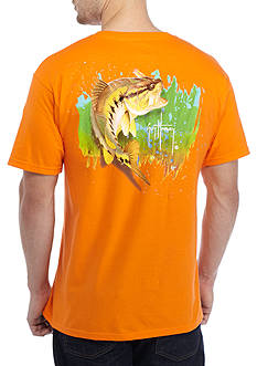 Guy Harvey® Bass Jumper Graphic Tee