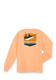 Guy Harvey® Long Sleeve Clean Label Graphic Tee