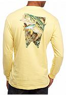 Guy Harvey® Long Sleeve Loudmouth Graphic Tee