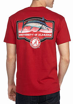 Guy Harvey Short Sleeve Collegiate Masters Alabama Graphic Tee