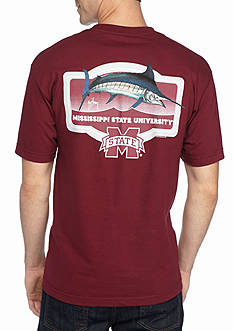 Guy Harvey Short Sleeve Mississippi State University Masters Graphic Tee