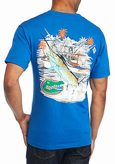 Guy Harvey® Collegiate Boat University of Florida Short Sleeve Graphic Tee
