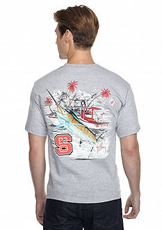 Guy Harvey North Carolina State Wolfpack Collegiate Boat Graphic Tee