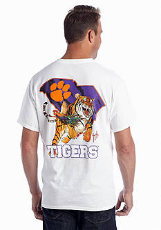 Guy Harvey® Clemson Tiger Stripes Short Sleeve Graphic Tee