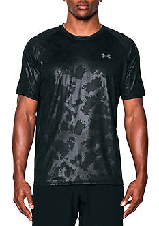 Under Armour Tech Novelty Short Sleeve Tee Shirt