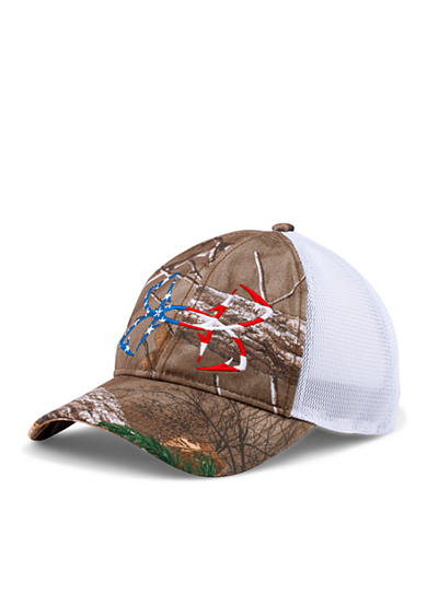 Under armour camo fish hook cap for Under armour fish hook
