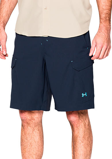 Under armour fish hunter cargo shorts for Under armour fishing shorts
