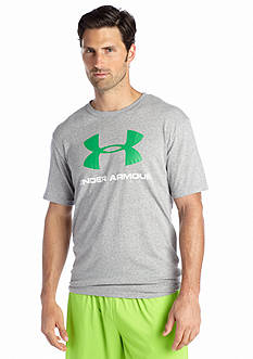 Under Armour® Sportstyle Logo Tri-Blend Tee
