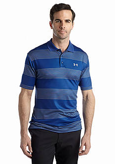 Under Armour® Men's Back 9 Stripe Polo