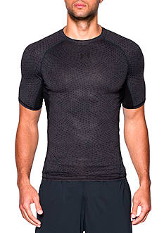 Under Armour® Men's HeatGear® Armour Compression Printed Short Sleeve Tee