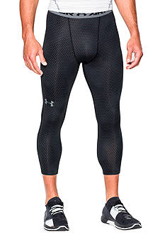 Under Armour® 3/4 Stripe Printed Compression Leggings