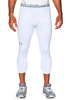 Under Armour 3/4 Stripe Printed Compression Leggings
