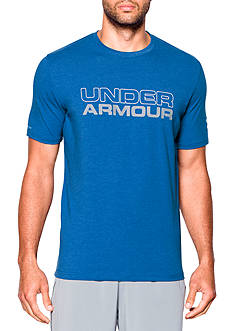 Under Armour Short Sleeve Wordmark Cotton Graphic Tee