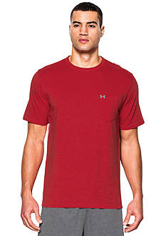 Under Armour® Tri-Blend Pocket Solid Tee