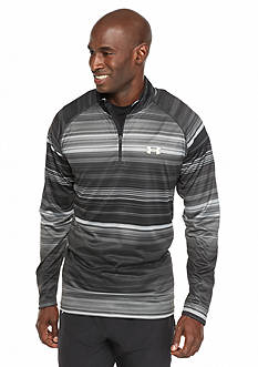 Under Armour Comfortable Striped Zipper T-Shirt
