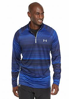 Under Armour Comfortable Striped Zipper T-Shirt