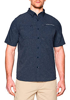 Under Armour® ArmourVent™ Solid Short Sleeve Woven Shirt