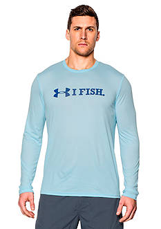 Under Armour® I Fish Long Sleeve Graphic Tee