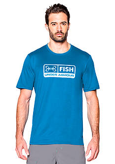 Under Armour® Fish Tech Short Sleeve Graphic Tee