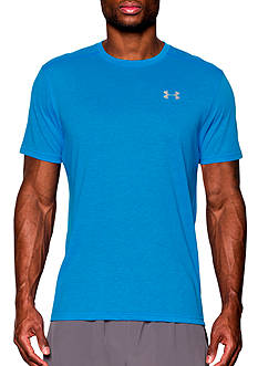 Under Armour® Short Sleeve Streaker Run Logo Tee