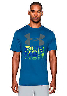 Under Armour Run Rising Graphic Tee