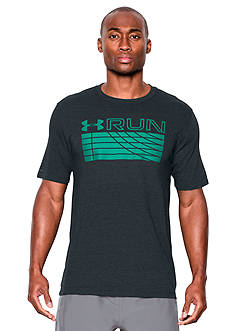 Under Armour Run Track Graphic Tee