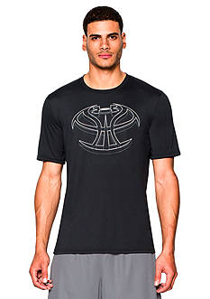 Under Armour® 3D Mapped Basketball Icon Graphic Tee