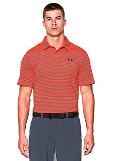 Under Armour® Color Block Address Stripe Polo Shirt