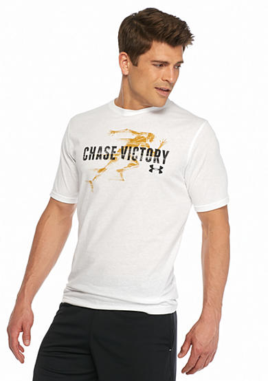 Under Armour® Charged Cotton® Chase Victory Short Sleeve Graphic Tee