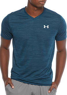 Under Armour Streaker V-Neck Short Sleeve Tee Shirt