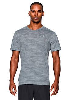Under Armour® Streaker V-Neck Short Sleeve Tee Shirt
