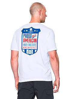 Under Armour Wounded Warrior Project Proud American Tee