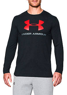 Under Armour Sportstyle Logo Long Sleeve Graphic Tee