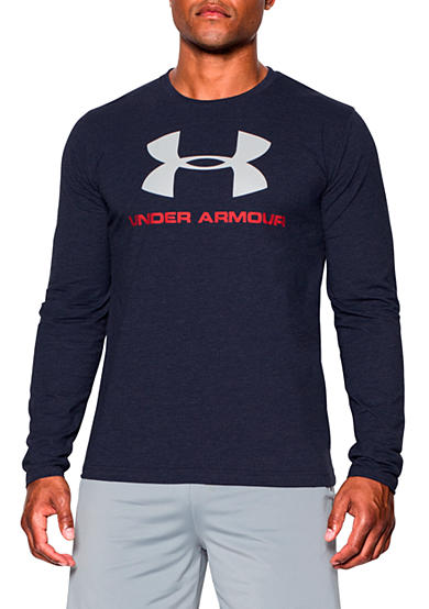 Under Armour® Sportstyle Logo Long Sleeve Graphic Tee
